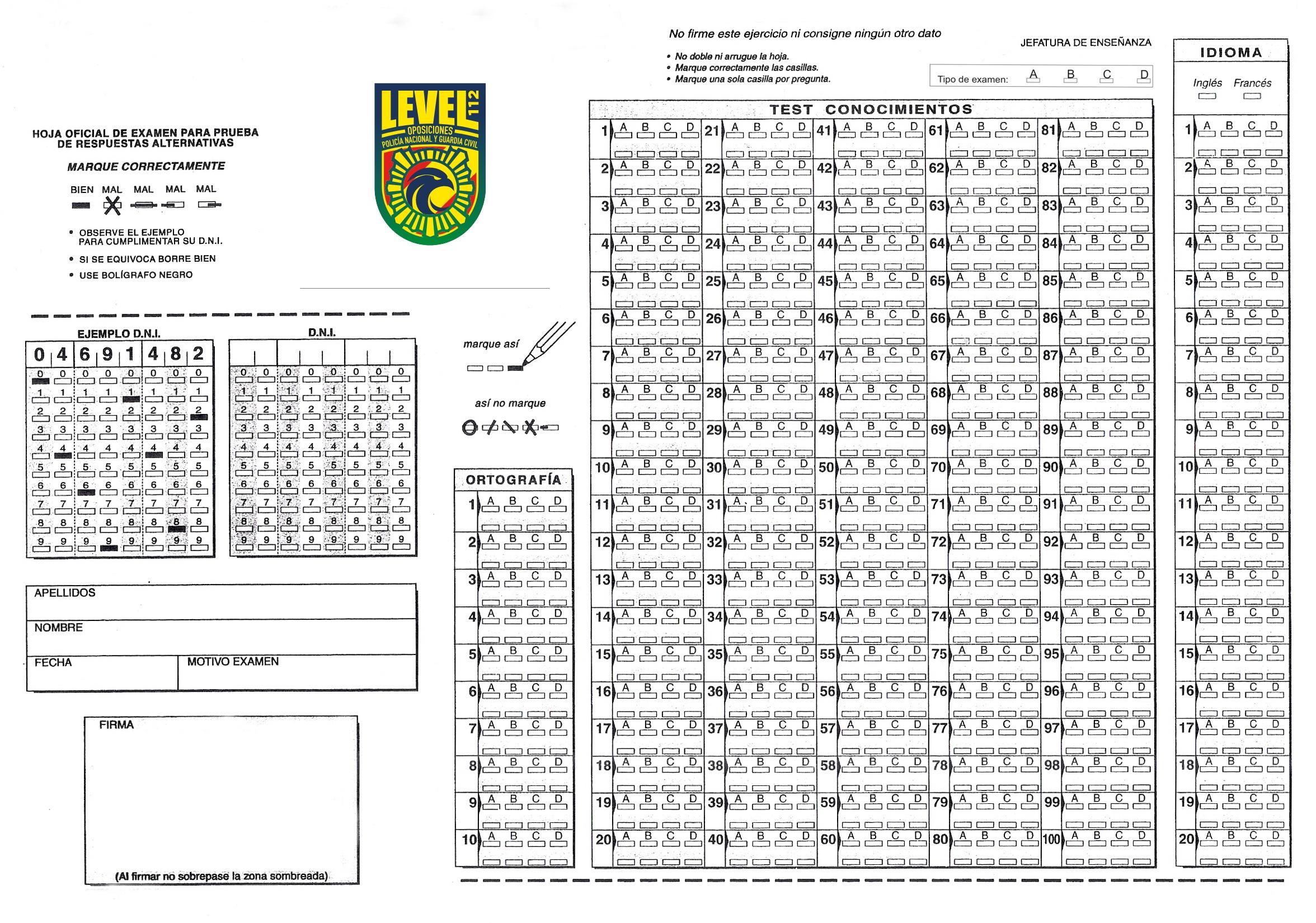 Información Adicional | Estudiar Oposiciones Guardia Civil | Level112